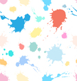 pattern of spray paints vector image