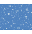 Seamless Blizzard Pattern