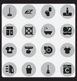 set of 16 editable hygiene icons includes symbols