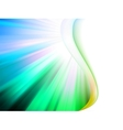 Colorful smooth twist light lines EPS 8 vector image