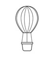 air ballon romantic decoration image vector image