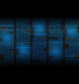 binary background abstract streaming code matrix vector image vector image