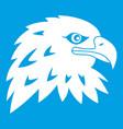 eagle icon white vector image vector image