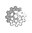 gear cog wheel vector image vector image