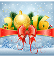 New Year Background vector image vector image