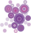 Of abstract flower vector | Price: 1 Credit (USD $1)