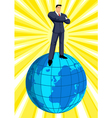 On Top Of The World vector image