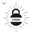 Power fitness gym logo vector image vector image