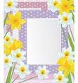 frames flowers vector image