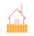 Apartment house for sale rent buy vector image