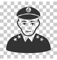 Military Captain Icon vector image vector image