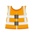 reflective vest safety work vector image