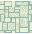 Square retro background vector image vector image