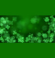 background on st patricks day vector image