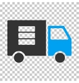 Data Transfer Van Eps Icon vector image vector image