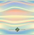 hologram wavy texture vector image vector image