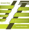 Modern Green Infographics design vector image vector image