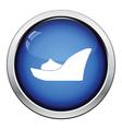 Platform shoe icon vector image