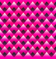 red triangle seamless texture vector image vector image