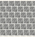 seamless modern monochrome pattern vector image vector image