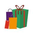 shopping bags concept vector image vector image