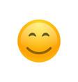 smile face emoji icon vector image vector image