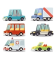 Transport Car Vehicle Icon Design Stylish Retro vector image vector image