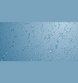 background with drops and streaks water vector image vector image