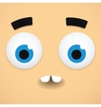 Confused emoticon vector image vector image