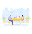 disabled people dating and enjoying recreation vector image vector image