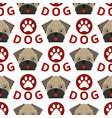dog breed french bulldog adorable doggy face pet vector image vector image