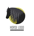 Draft Horse in Flat Design vector image vector image