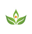 ecology nature element icon vector image vector image