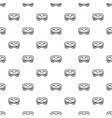 festive night mask pattern seamless vector image vector image