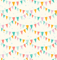 Garlands pattern vector image vector image
