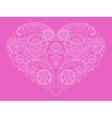 Heart design color vector image vector image