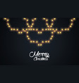 marry christmas banner vector image vector image