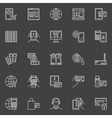 Online payment icons set vector image vector image