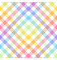 rainbow lgbt - seamless watercolor pattern vector image vector image