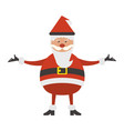 christmas cartoon isolated concept vector image vector image