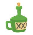 drink icon cartoon style vector image vector image