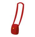 female hand bag icon vector image