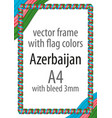 flag v12 azerbaijan