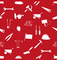 international worker day or labor day theme icons vector image vector image