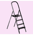 step ladder vector image vector image