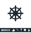 Helm icon flat vector image
