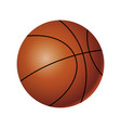 basketball - modern realistic isolated vector image