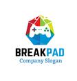 Breakpad Design vector image