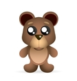 brown teddy bear vector image