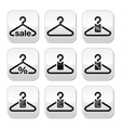 Hanger sale buy 1 get 1 free buttons set vector | Price: 1 Credit (USD $1)